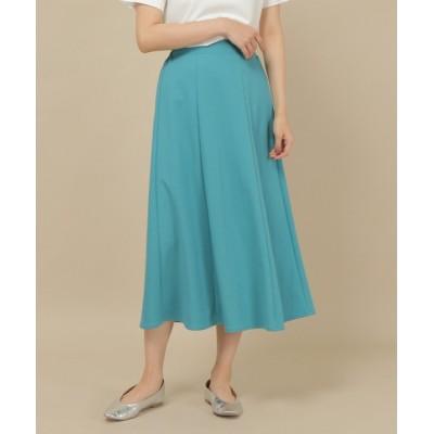 ikka LOUNGE / レーヨンナイロン鹿の子パネルスカート WOMEN スカート > スカート