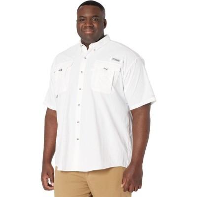 コロンビア Columbia メンズ 半袖シャツ 大きいサイズ トップス Big & Tall Bahama(TM) II Short Sleeve Shirt White