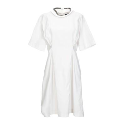 ANTONELLI ミニワンピース&ドレス ライトグレー 46 コットン 100% ミニワンピース&ドレス