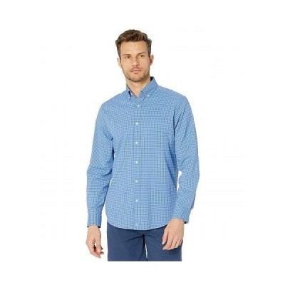 Vineyard Vines バインヤード・バインズ メンズ 男性用 ファッション ボタンシャツ Classic Fit Gingham OTG - Monoshine