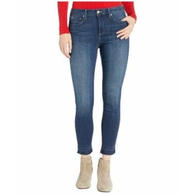 エヌワイディージェイ レディース デニムパンツ ボトムス Ami Skinny Ankle Jeans with Released Hem in Saint Veran Saint Veran