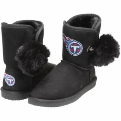 Cuce クーチェ シューズ ブーツ Cuce Tennessee Titans Womens Black The Fumble Faux Fur Boots