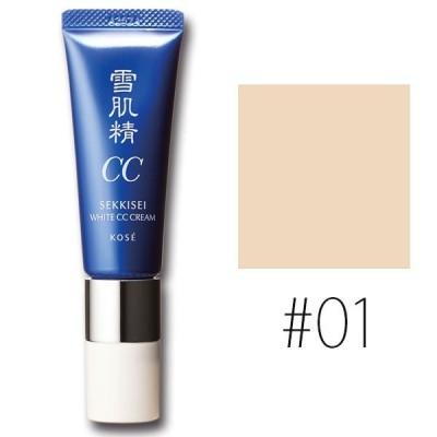 コーセー (#01)雪肌精 ホワイト CCクリーム #LIGHT OCHRE SPF50+/PA++++ 30g(W_58)