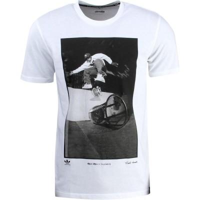アディダス Adidas メンズ Tシャツ トップス RYR Kareen Tee - Respect Your Roots white/black