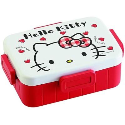 4点ロック ランチボックス 弁当箱 ハローキティ Red Heart(4点ロック ランチボックス 日本製 ハローキ, 650ml)