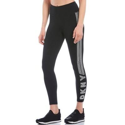 ダナ キャラン ニューヨーク レディース カジュアルパンツ ボトムス High Waist 7/8 Track Logo Legging