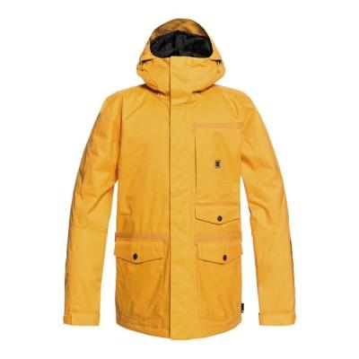 コート ジャケット ディーシーシューズ DC Shoes Men's Servo Snow Jacket EDYTJ03071 GOLDEN ROD