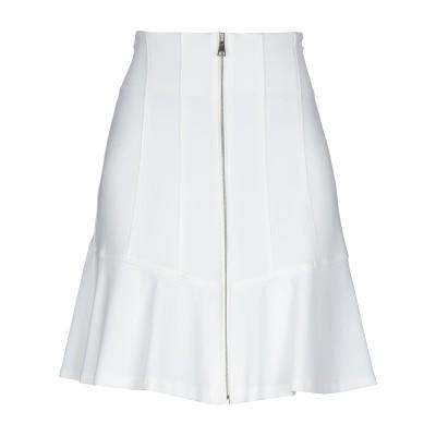 ピンコ PINKO ひざ丈スカート ホワイト 40 レーヨン 65% / ナイロン 30% / ポリウレタン 5% ひざ丈スカート