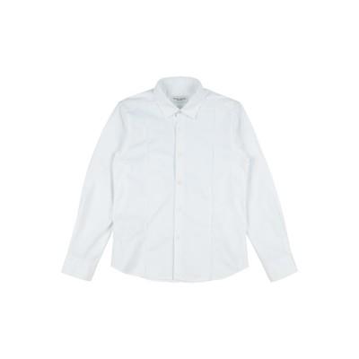 パオロ ペコラ PAOLO PECORA シャツ ホワイト 8 コットン 96% / ポリウレタン 4% シャツ