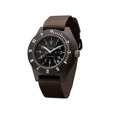 Marathon Navigator Swiss Made Military Issue Pilot's Watch w/Date, Tritium, Sapphire Crystal, Steel Crown, Battery Hatch, ETA F06 Movement