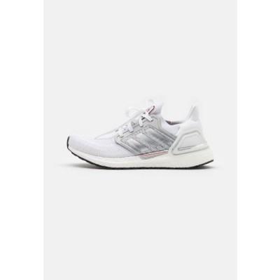 アディダス レディース スポーツ用品 ULTRABOOST 20 DNA - Neutral running shoes - footwear white/silver metallic/frecan