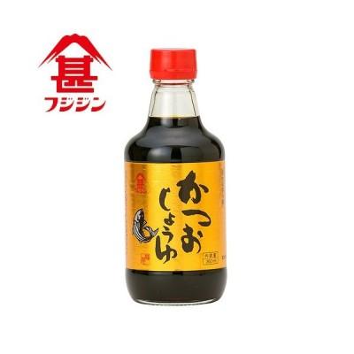 富士甚醤油 フジジン かつおしょうゆ 360ml