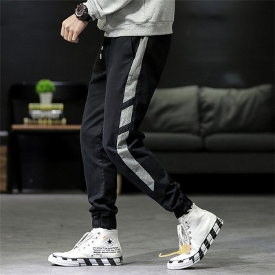 メンズ ジャージ スウェットパンツ スポーツウェア カジュアルパンツ スエットパンツ クライミングパンツ 美脚 イージーパンツ 韓国風