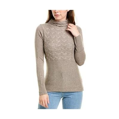 レディース ファッション  Forte Cashmere Horizontal Cable-Knit Cashmere Sweater