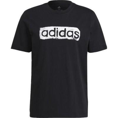 アディダス マルチスポーツ M BRSHSTRK V4 グラフィックTシャツ 20Q2 BLK Tシャツ(31438-gl3034)