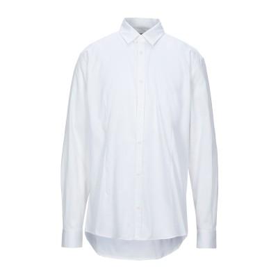 ダニエレ アレッサンドリーニ オム DANIELE ALESSANDRINI HOMME シャツ ホワイト 40 コットン 97% / ポリウレタン