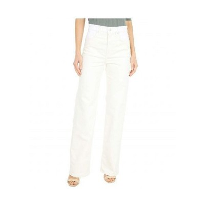 BLDWN レディース 女性用 ファッション ジーンズ デニム High-Rise Relaxed Jeans - Powder White