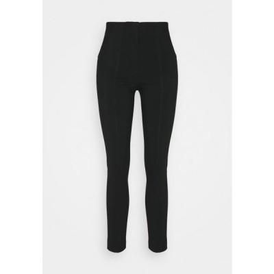 レディース ファッション Trousers - black