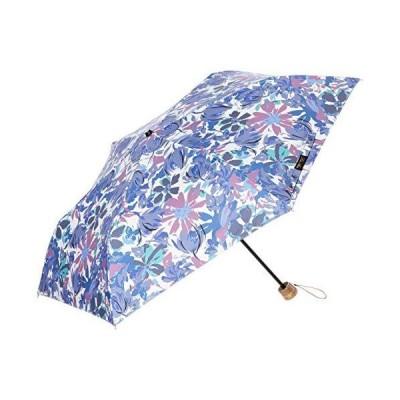 [レイクアルスター] 晴雨兼用傘 晴雨兼用プリントミニ傘 レディース ホワイト 日本 親骨50cm (-)