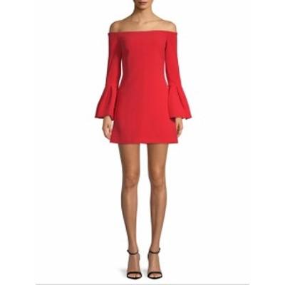 アレクシス レディース ワンピース Off-The-Shoulder Bell Sleeve Dress