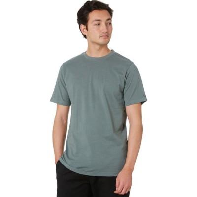 ボルコム Volcom メンズ Tシャツ トップス Solid Ss Tee Fir green
