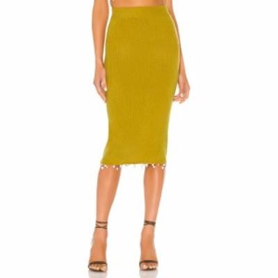 トゥラロサ Tularosa レディース スカート Sempre Skirt Pear