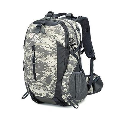 FENGDONG 40L Waterproof Lightweight Hiking,Camping,Travel Backpack for Men Women (Digital)