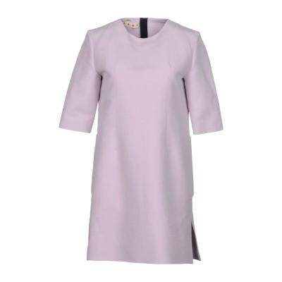 マルニ MARNI ミニワンピース&ドレス ライラック 44 コットン 100% ミニワンピース&ドレス