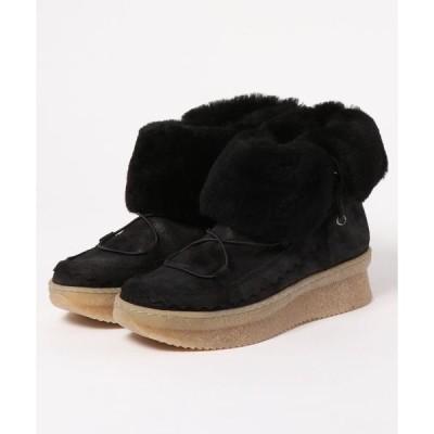 ブーツ Kanna / 8852 / ムートンファーショートブーツ