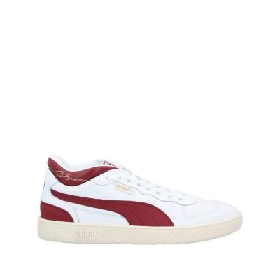 プーマ PUMA スニーカー&テニスシューズ(ローカット) ホワイト 11 革 スニーカー&テニスシューズ(ローカット)