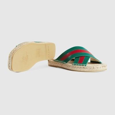 グッチ GUCCI☆メンズMens leather slide sandal サンダル【624629 04JH0 3170 】【送料無料】【正規品】