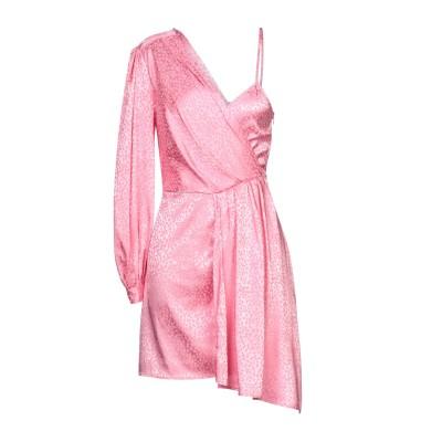 VICOLO ミニワンピース&ドレス ピンク M ポリエステル 96% / ポリウレタン 4% ミニワンピース&ドレス