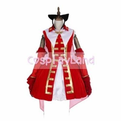 高品質 高級コスプレ衣装 フェイト・グランドオーダー 風 オーダーメイド コスチューム FateGrand Order Magical Ruby Red Dress Cosplay