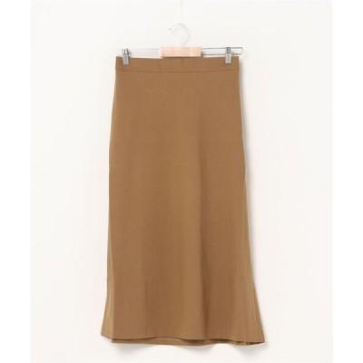 スカート Aラインミディ丈スカート --