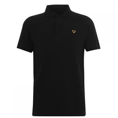 トゥルー レリジョン True Religion メンズ ポロシャツ トップス Polo Shirt Black