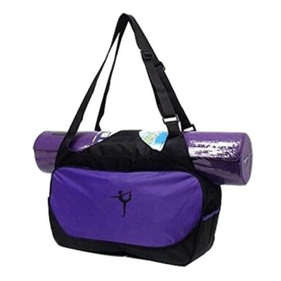趣味 ヨガ マットバッグ Multifunction Yoga Mat Tote Bag: Lightweight  Durable  Breathable Pouch[Purple] 正規輸入品
