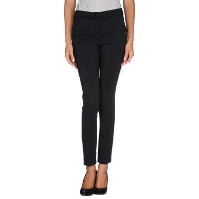 リュー ジョー LIU •JO パンツ ブラック 46 レーヨン 96% / ポリウレタン 4% パンツ