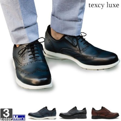 スニーカー アシックス商事 asics メンズ TU-7006 テクシーリュクス 1906 革靴 クールビズ
