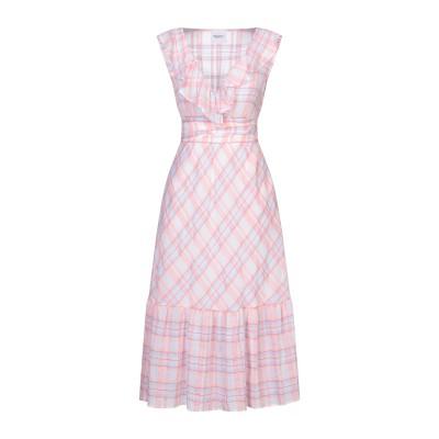 ANNARITA N TWENTY 4H 7分丈ワンピース・ドレス ピンク 44 コットン 100% 7分丈ワンピース・ドレス