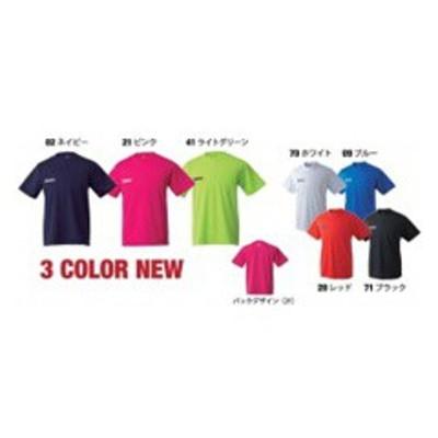 ニッタク NITTAKU ドライTシャツ 卓球ウェア [カラー:ピンク] [サイズ:XO] #NX-2062-21 スポーツ・アウトドア