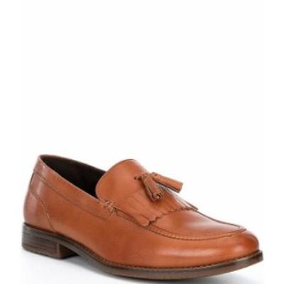 ロックポート メンズ スリッポン・ローファー シューズ Men's Leather Style Purpose 3 Kiltie Tassel Loafers Cognac