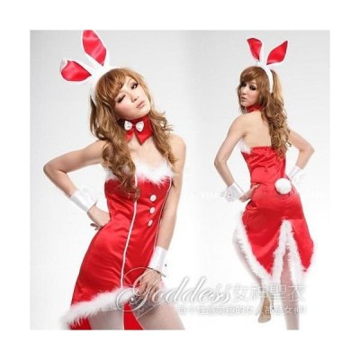 コスプレ バニーガール衣装/bng5rバニーガール【レッド】/コスプレ/サンタクロース 衣装