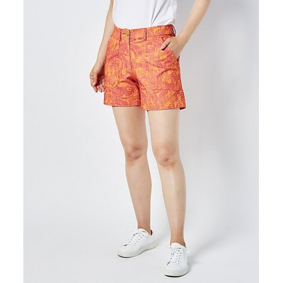 <Munsingwear/マンシングウェア> ストレッチツイルボタニカルプリントショーツ ORYL【三越伊勢丹/公式】
