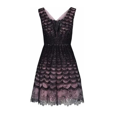 CAROLINA HERRERA ミニワンピース&ドレス ブラック 10 ナイロン 100% ミニワンピース&ドレス