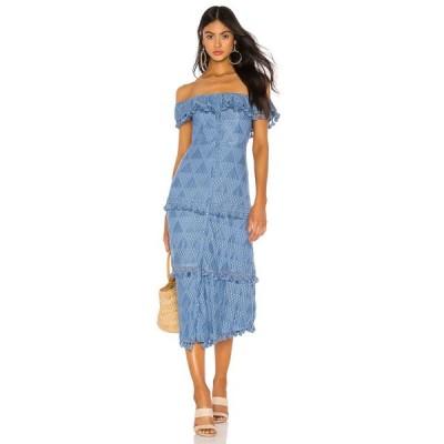 トゥラロサ Tularosa レディース ワンピース ワンピース・ドレス Monica Dress Slate Blue
