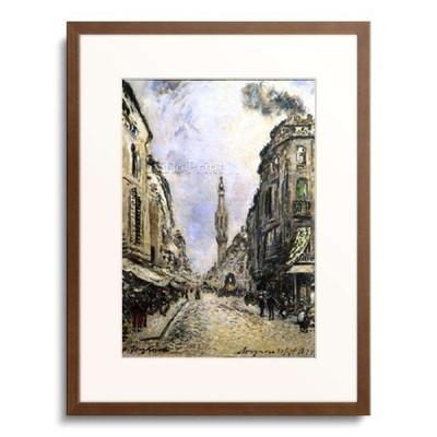 ヨハン・バルトルト・ヨンキント Johan Barthold Jongkind 「Avignon. 1873.」