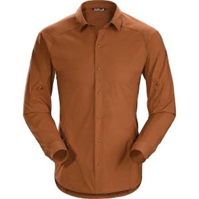 アークテリクス メンズ シャツ トップス Arcteryx Men's Elaho LS Shirt Agra