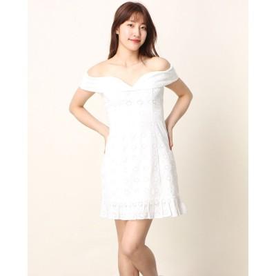 ゲス GUESS Krin Dress (TRUE WHITE)
