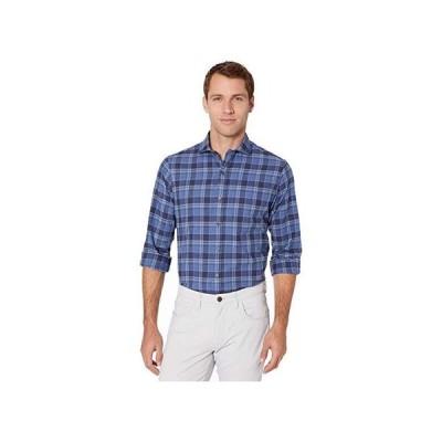 ポロ・ラルフローレン Classic Fit Plaid Twill Shirt メンズ シャツ トップス Nitetime Blue/Navy Multi