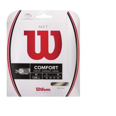 Wilson(ウイルソン) テニス ストリング NXT 17 (1.24mm) WRZ942900 マルチ・フィラメント ガット 単張り